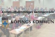 Kommunfullmäktigesammanträde 26/10